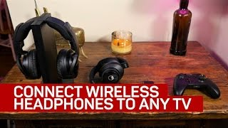 4 ways to connect wireless headphones to any TV (CNET How To)