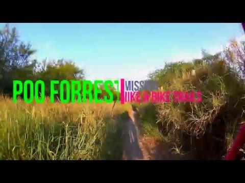 Mission Hike & Bike Trails: Poo Forrest