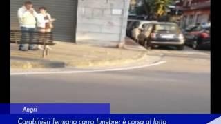 Angri: Carabinieri fermano carro funebre, è corsa al lotto - 23 Maggio 2017