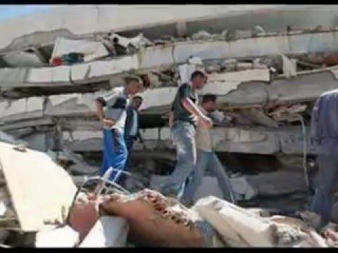 tremblement de terrainBoumerdes Alger Tizi