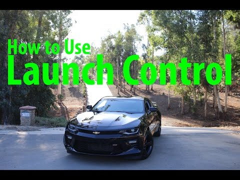 How to Launch Control a 2016 Camaro SS