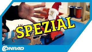 Filial-Spezial: Automatisierter Rentierschlitten DIY - Tekkie Hacks | Conrad