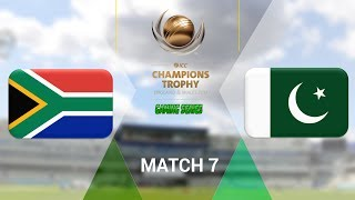 (QUALIFIER) ICC CHAMPIONS TROPHY 2017 GAMING SERIES - SOUTH AFRICA v PAKISTAN - GROUP B MATCH 7