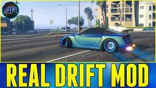 GTA 5 PC Mods - Real Drift Mod (Drift & Wheelie Cars!!!) w/ AR12 Crew