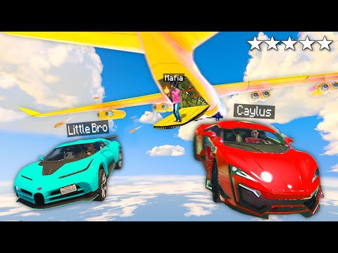 Stealing RARE Supercars From MAFIAS Cargoplane In GTA 5 RP