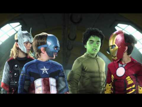 Smyths Toys Superstores mini avengers TV commercial