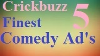 Cricbuzz Creative Comedy Funny ads video ( Try Not to Laugh )