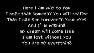 거미 Gummy You Are My Everything 영어 버젼 English Version 가사 Lyrics