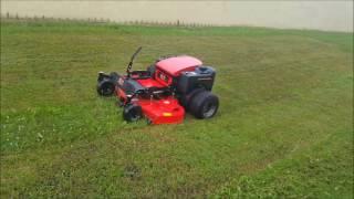 Dual Wheel Drive ZTR 60 Remote Control Lawnmower