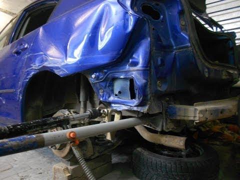 Кузовной ремонт mazda 3