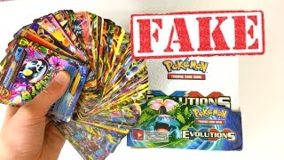100 ULTRA RARE PULLS??! FAKE POKEMON CARD BOOSTER BOX OPENING!