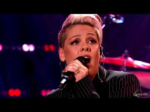 """Pink """"What About Us"""" Graham Norton Show 2017  720p"""