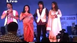 Pawan singh n anjana singh New Stage Show delhi.........