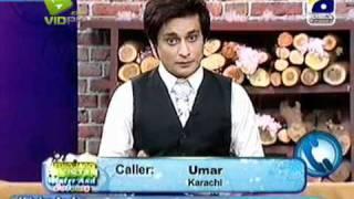 Singer Salman Ahmad , Samina & Mansoor Akhtar UJP with Sahir Lodhi Part-3