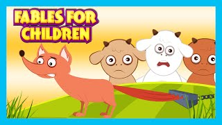 FABLES FOR CHILDREN | Moral Story Compilation For Kids | Top 10 Stories For Children