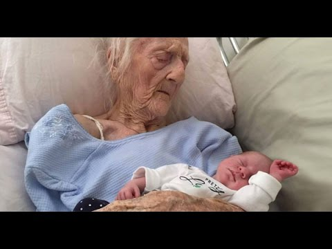 A 101 YEARS OLD WOMAN GAVE BIRTH TO A BABY BOY? APRIL 27, 2016