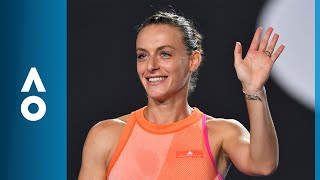 Kristina Mladenovic v Ana Bogdan match highlights (1R) | Australian Open 2018