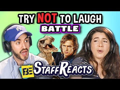 Try To Watch This Without Laughing or Grinning Battle 3 ft. FBE Staff