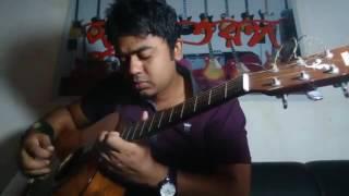 chole geso tate ki bangla guitar tiutoreal video