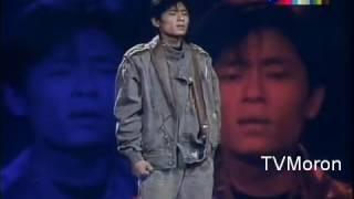 1988 王傑現場版  一場遊戲一場夢 Dave Wang 1988 live performance of