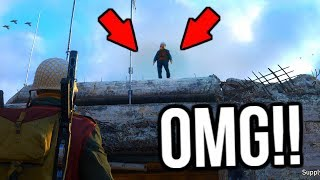 HOW TO GET ON TOP OF THE HEADQUARTERS IN COD WW2!! (OMG!!) **TUTORIAL**
