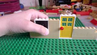 как можно сделать лего домик.часть 1