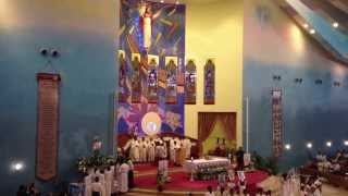 Ave Maria ( Fruto Ramirez ) - Holy Rosary Grand Choir, Doha Qatar