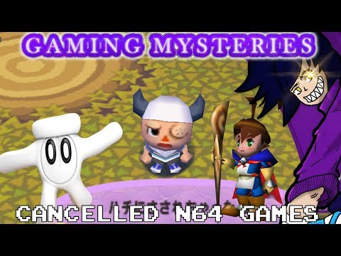Gaming Mysteries: Cancelled N64 Games, Glover 2 / Quest 64 2 / Cabbage