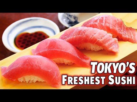 Tokyo s Freshest Sushi Tsukiji Fishmarket