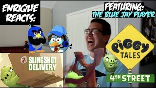 """Enrique Reacts: """"Piggy Tales: 4th Street - S4, E2 - Slingshot Delivery"""" (FEAT: The Blue Jay Player!)"""