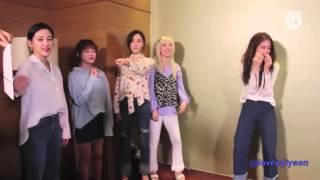 T-ara in Vietnam games HD 2016 #jiyeon