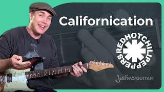 How to play Californication by Red Hot Chili Peppers - Guitar Lesson Tutorial (ST-362)