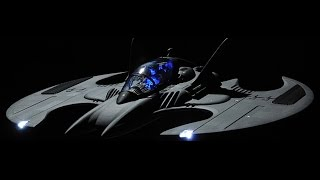 The Batwing from the 1989 Batman Movie