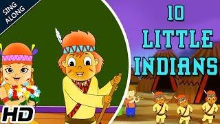 Ten Little Indians (HD) Sing Along Nursery Rhyme For Kids   Popular Nursery Song   Shemaroo Kids