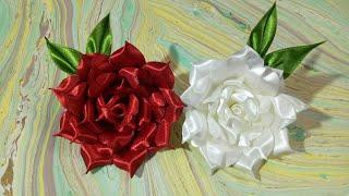 DIY Fabric flower- 3- Rose 🌹🌹🌺