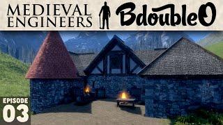 Medieval Engineers Gameplay :: Blacksmith! Part 3