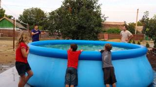 Swimming Pool Tricks!!