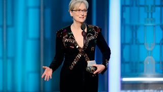 Meryl Streep blasts Donald Trump during Golden Globes speech