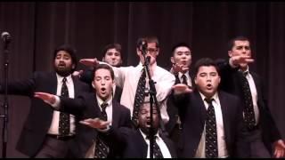 UC Men's Octet - Greased Lightning -  Spring Show 2012