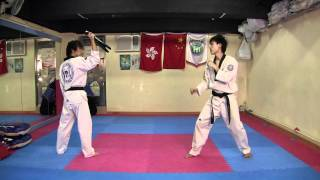 TKD Combo Kicks, Turning Kicks, Single Kicks (Short Edition)