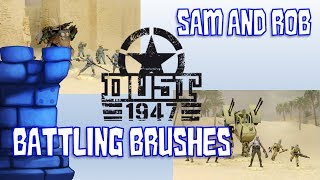 Battling Brushes with Sam and Rob: DUST 1947 (PLA and Blutkreuz Troopers)