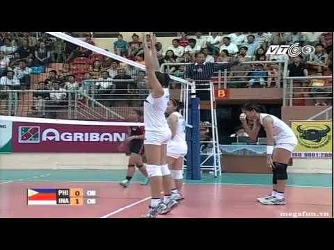 Philippines vs Indonesia 2014 FIVB Women WCH Qualification