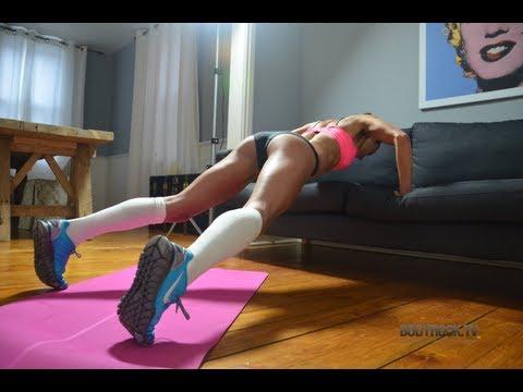 Hot Girls Sweat Workout