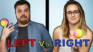 Left-Handers Vs Right-Handers: Who
