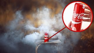 HOW TO MAKE SMOKE BOMB FROM COCA COLA