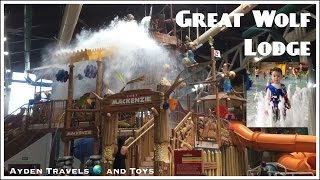 GREAT WOLF LODGE Indoor Waterpark Family Fun | Kids Play | Water slides | Wave Pool | Lazy River