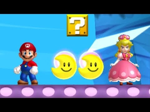 New Super Mario Bros. U Deluxe Coin Battle Peachette vs. Mario