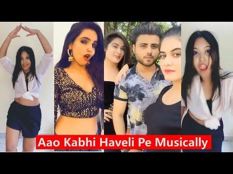 Xxx Mp4 Aao Kabhi Haveli Pe Musically Musically Compilation 2018 3gp Sex