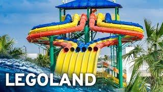 LEGOLAND DUBAI WATER PARK: All Waterslides - GoPro POV!