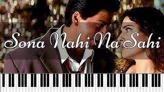 Sona Nahi Na Sahi | Hindi Piano Tutorial | Piano 4 U Cover